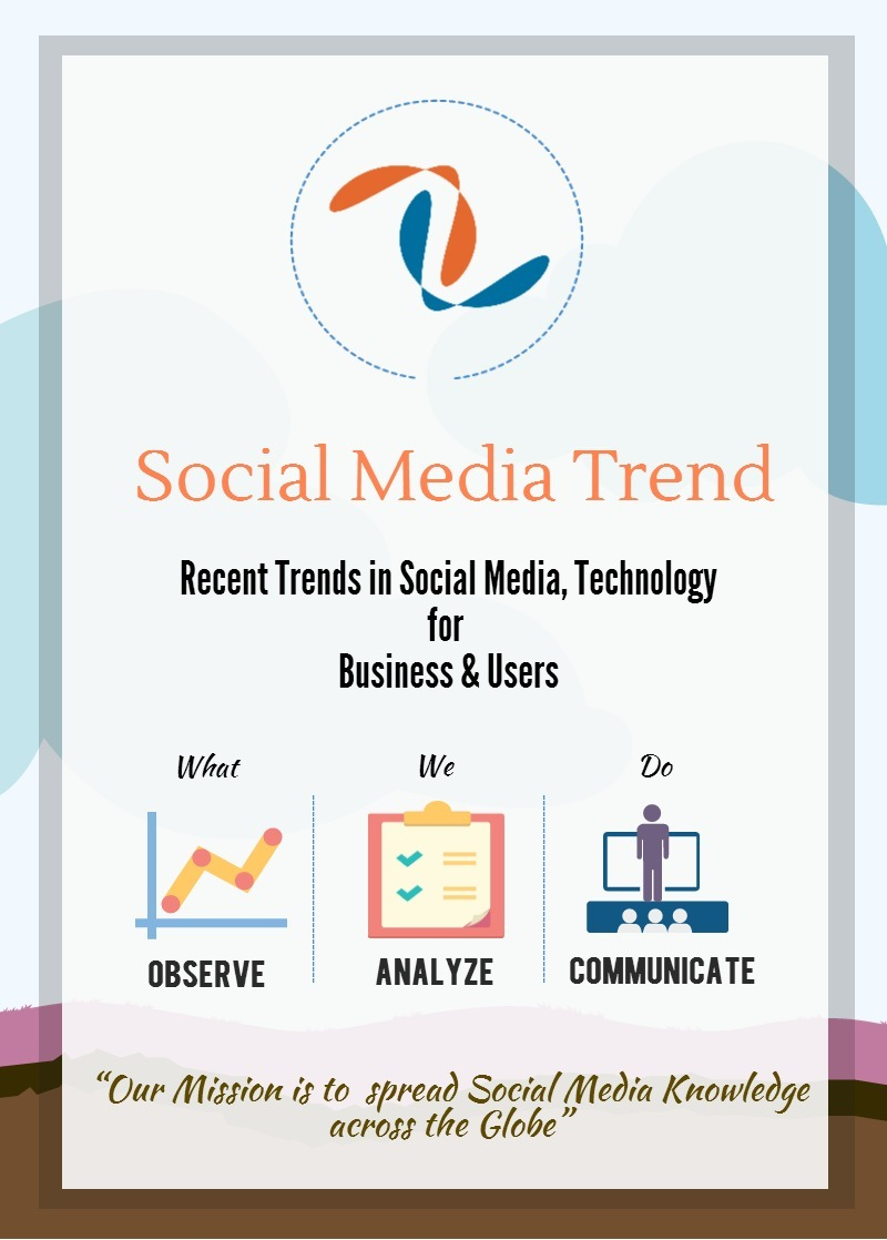 Social Media Trend infographic